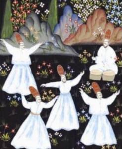 Rumî et le Samâ voie mystique du Soufisme derviches tourneurs